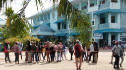Puluhan Mahasiswa Unimuda Sorong Papua Barat Unjuk Rasa