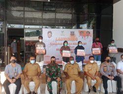 Bupati Jhony Kamuru Launching Penyaluran Bantuan Jelang PPKM Mikro di Sorong