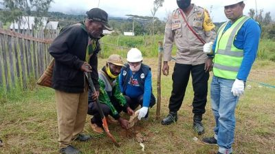 Kementerian Kominfo RI Bangun 14 BTS di Kabupaten Deiyai, Papua
