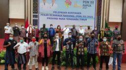 Gubernur Viktor Laiskodat Lepas Kontingen NTT ke PON XX Papua 2021