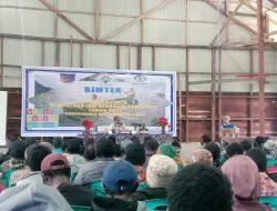 Pemerintah Kabupaten Paniai Gelar Bimtek Pendataan IDM Berbasis SDGs Desa 2021